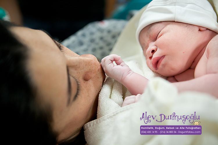 Rüzgar Yağız'ın Doğum Fotoğrafları