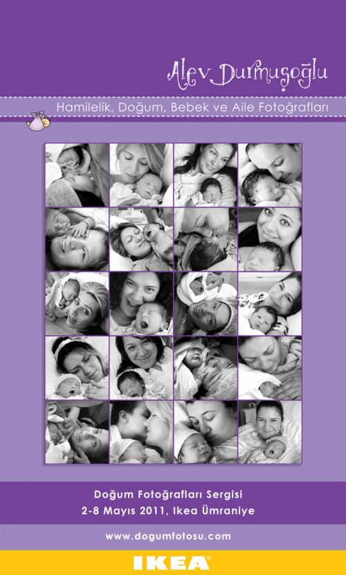 Doğum Fotoğrafları Sergisi! (2-15 Mayıs, IKEA Ümraniye)