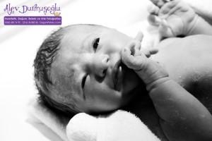 Deren Sağlamer Doğum Fotoğrafları