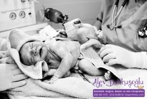 Aras Ülgen Doğum Fotoğrafları