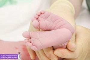 Talya Aydınlıoğlu Doğum Fotoğrafları
