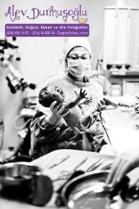 Ece Derin Yalçın Doğum Fotoğrafları