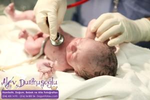 Yavuz Eren Tüzemen Doğum Fotoğrafları