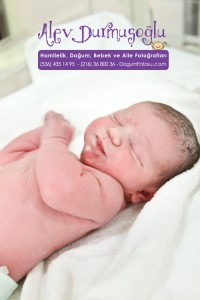 Ayşe Nisan Işık Doğum Fotoğrafları