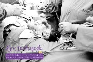 Selin Tezcan Doğum Fotoğrafları