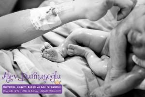 İris Çakır Doğum Fotoğrafları