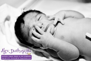 Tuna Şahin Doğum Fotoğrafları