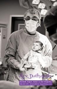 Derin Akbatur Doğum Fotoğrafları