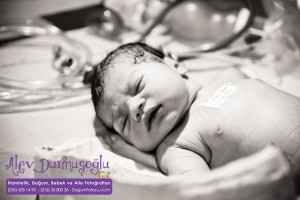 Ece Borahan Doğum Fotoğrafları