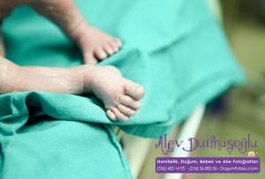 Elif Merve Tunç Doğum Fotoğrafları