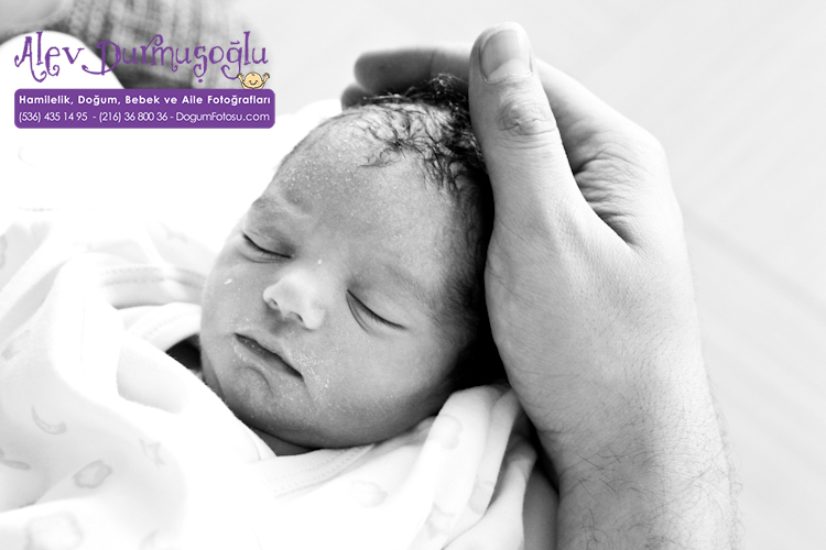 Elif Merve'nin Doğum Fotoğrafları