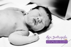 Irmak Karakuş Doğum Fotoğrafları