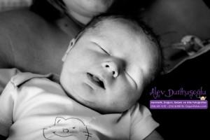 Deniz Töremen Doğum Fotoğrafları