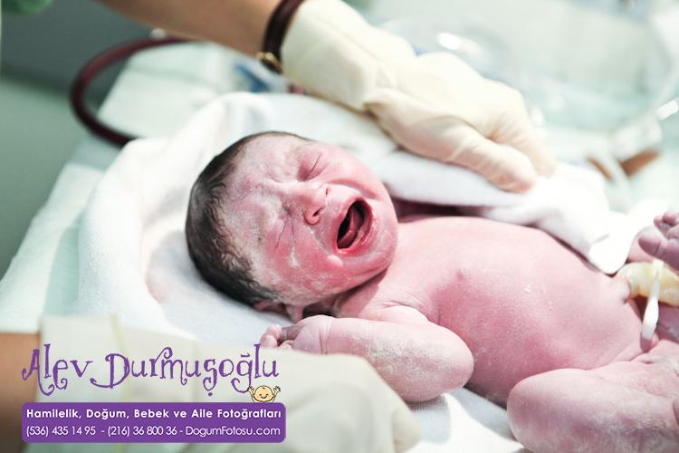 İrena Duru'nun Doğum Fotoğrafları
