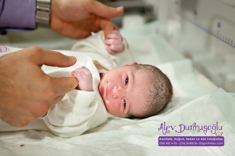Duru'nun Doğum Fotoğrafları