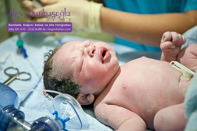Demir'in Doğum Fotoğrafları