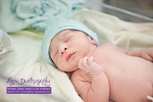 Ali Melih Demirel Doğum Fotoğrafları