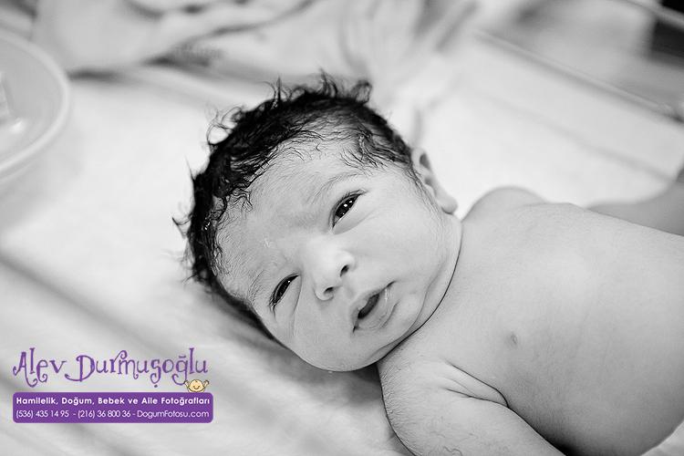 Ali Melih'in Doğum Fotoğrafları