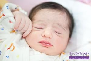 Zeren Ada Özgören Doğum Fotoğrafları