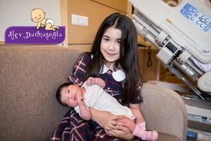 Cemre Bal Cebeci Doğum Fotoğrafları