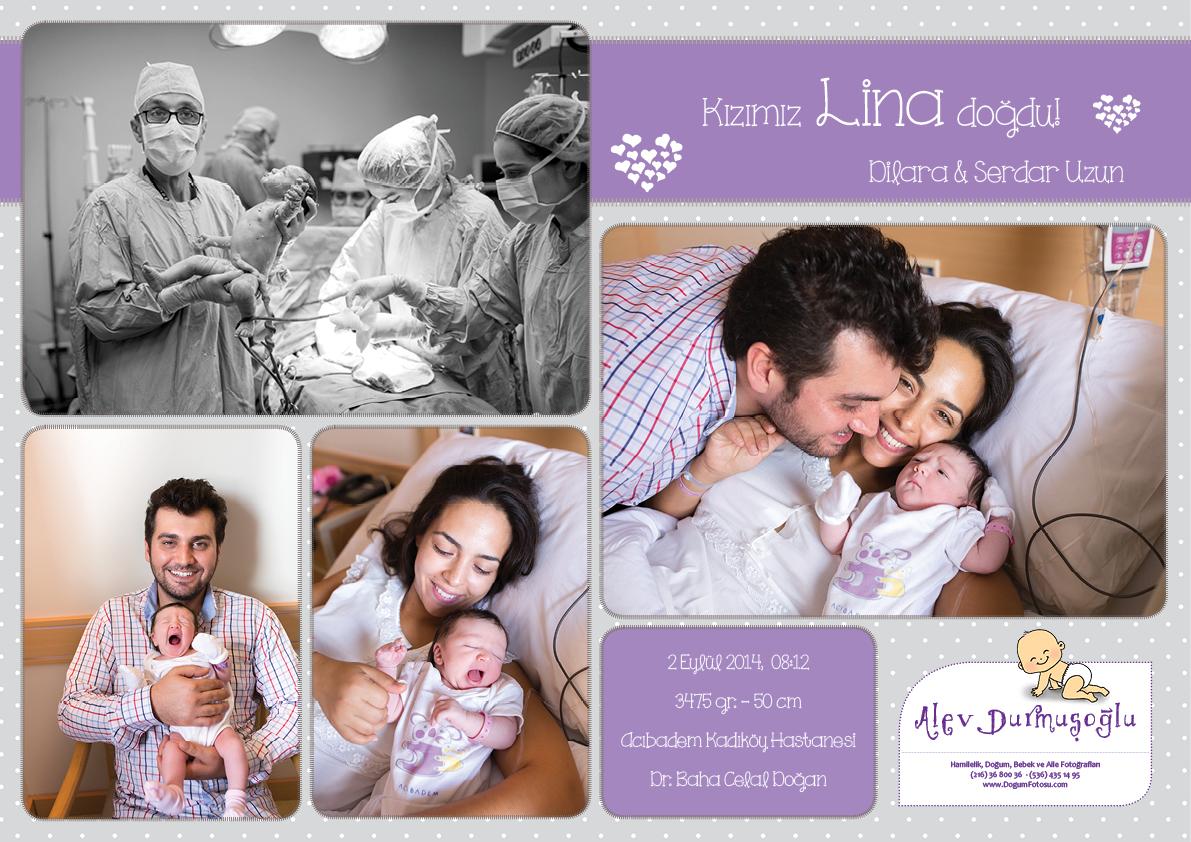 Lina'nın Doğum Fotoğrafları