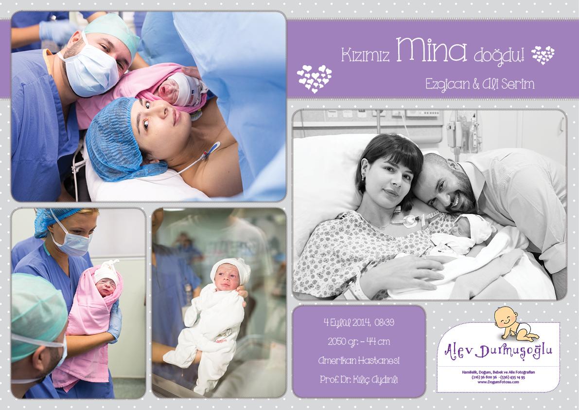Mina'nın Doğum Fotoğrafları