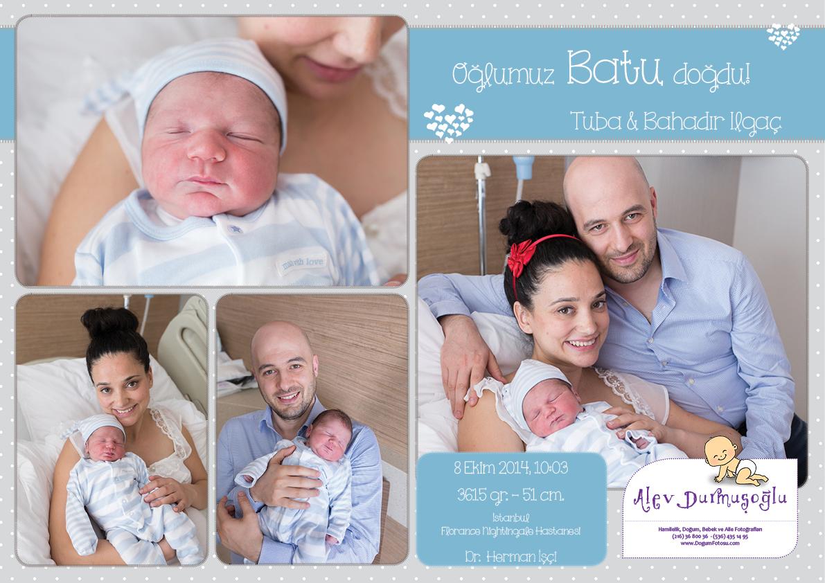 Batu'nun Doğum Fotoğrafları
