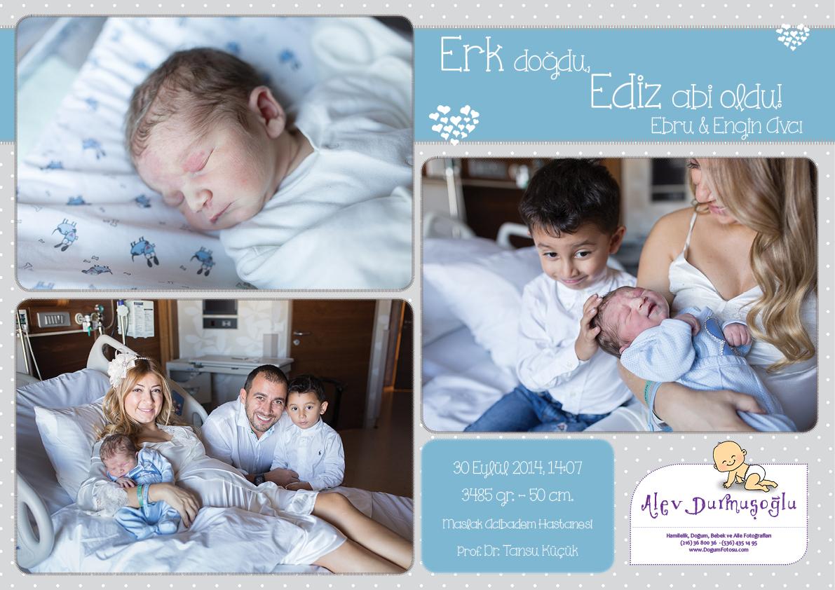 Erk'in Doğum Fotoğrafları