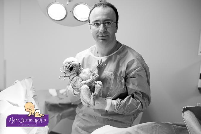 Kardelen'in Doğum Fotoğrafları