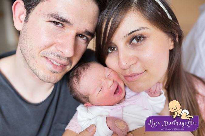 Ekin'in Doğum Fotoğrafları