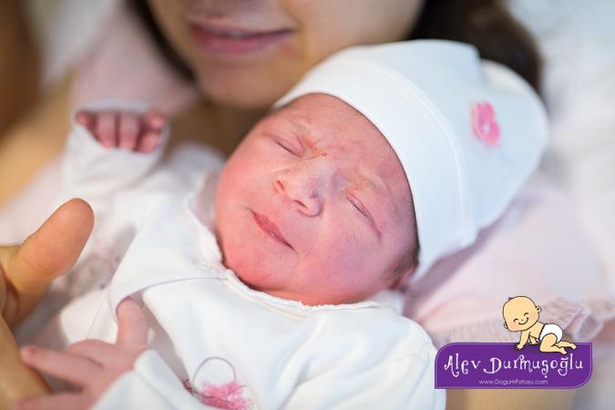 Defne Futacı Doğum Fotoğrafları