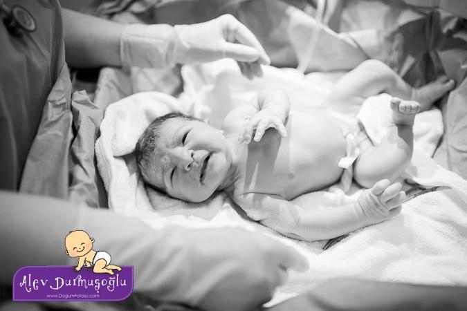 Defne'nin Doğum Fotoğrafları