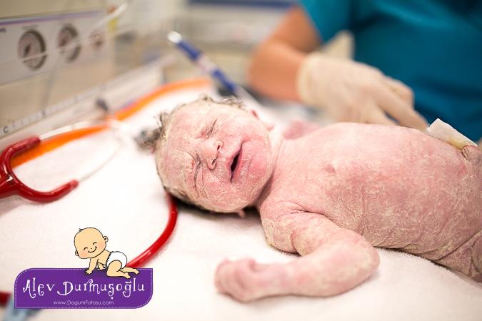 Naz'ın Doğum Fotoğrafları