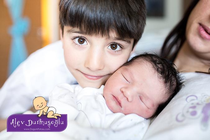 Alp Ali'nin Doğum Fotoğrafları