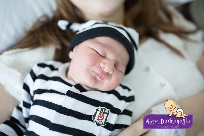 Yağız Alp'in Doğum Fotoğrafları