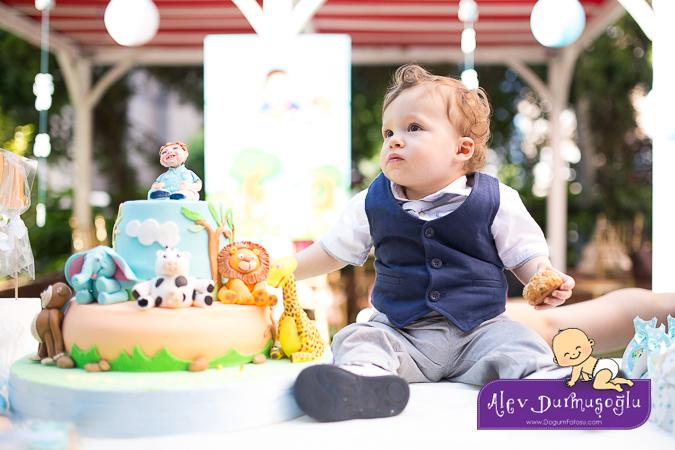 Utku 1 Yaşında – Doğumgünü Fotoğrafları