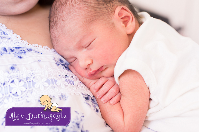 Deniz Emir'in Doğum Filmi & Doğum Fotoğrafları