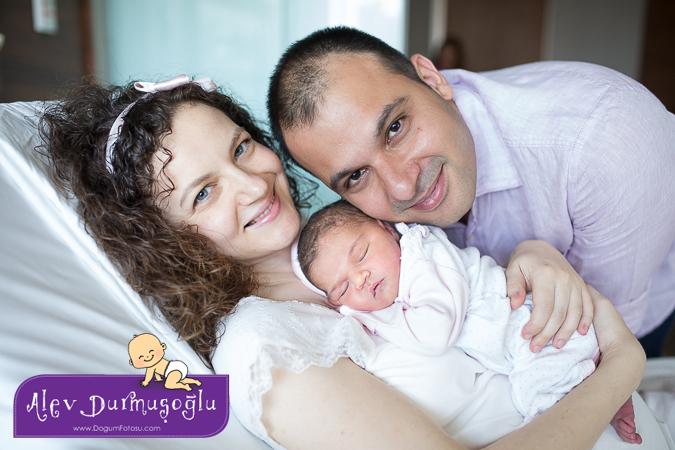 Damla'nın Doğum Fotoğrafları