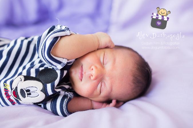 Azur'un Doğum Fotoğrafları
