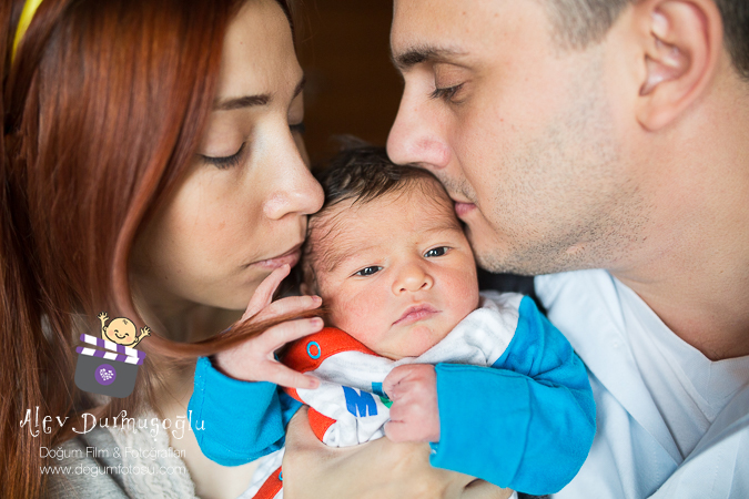 Poyraz Ata'nın Doğum Fotoğrafları