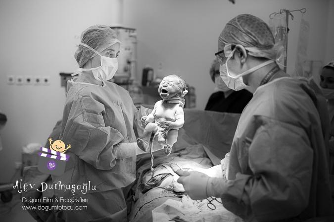 İpek'in Doğum Fotoğrafları