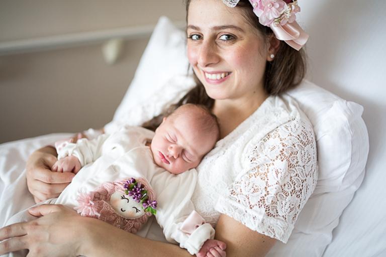 Beyza'nın Doğum Fotoğrafları